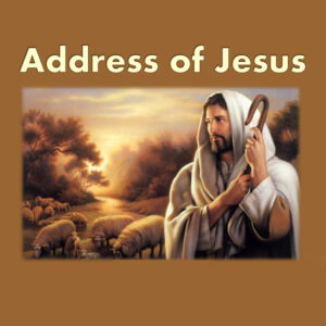 addressJesus